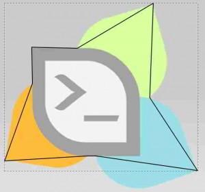 Hasil seleksi inkscape belum curve