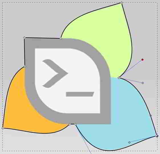 Hasil Curve Inkscape