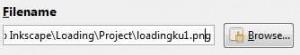 Simpan gambar loadingku