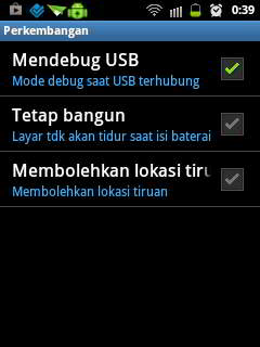 USB Debugging Samsung Galaxy