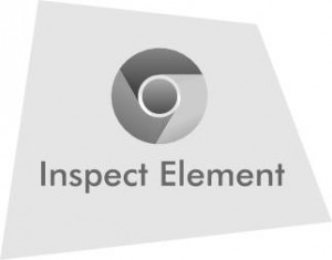 Chrome Inspect Element