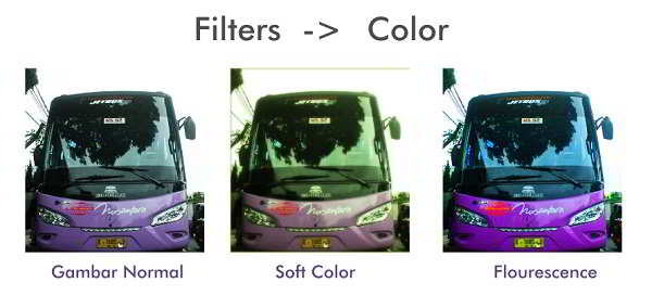 Filters Color Inkscape Bus Nusantara
