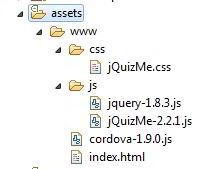 Isi folder assets www