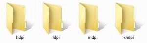 Buat 4 folder