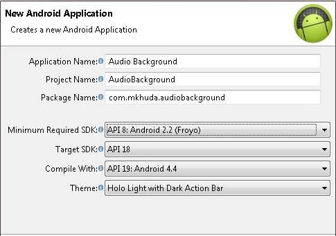 Konfigurasi Aplikasi