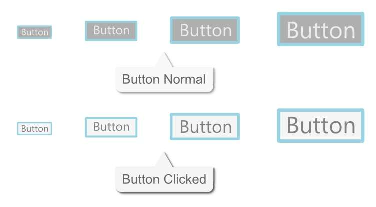 Button Android dengan Inkscape