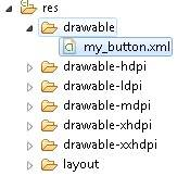 Membuat XML di Folder Drawable