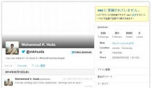 Rec Twitter Mkhuda