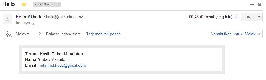 Email Notifikasi PHPMailer