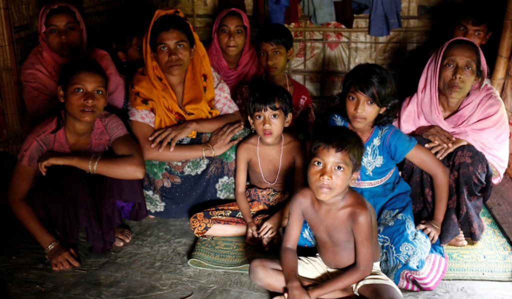 Pengungsi Rohingya di Bangladesh (act.id)